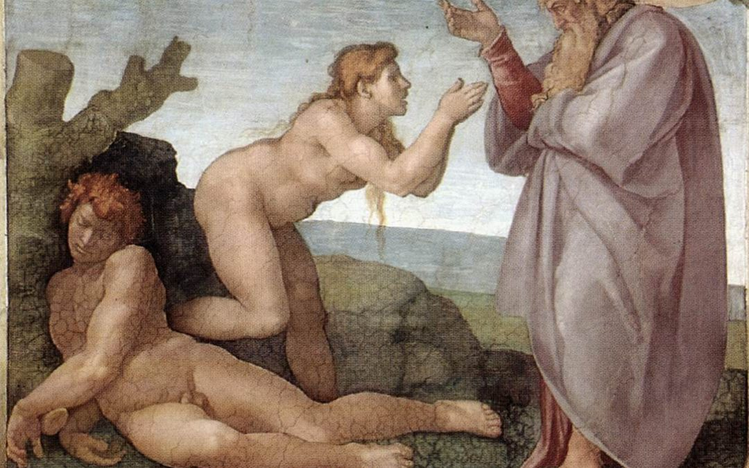 Glimpses of the Sistine Chapel the Creation of Eve