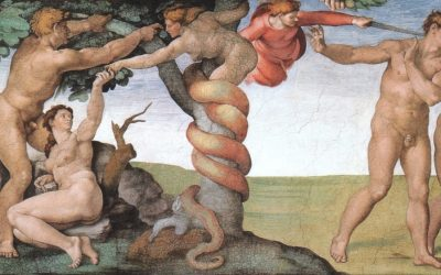 The Sistine Chapel: the Original Sin and the expulsion from Eden