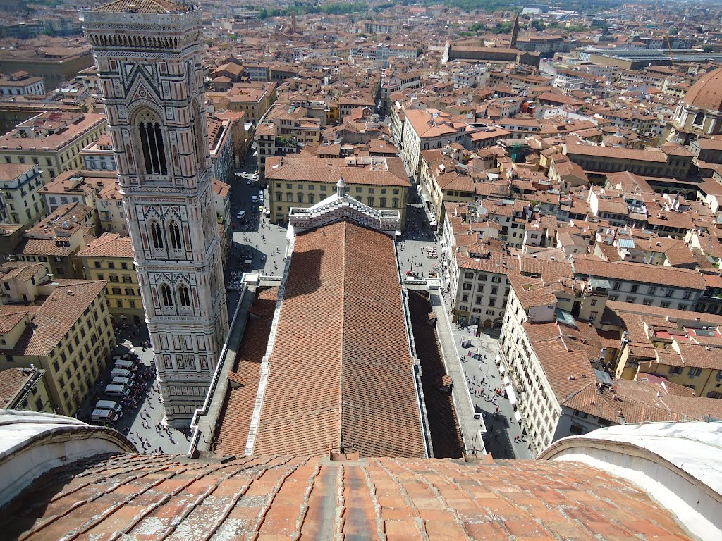 Florence View from Brunelleschi's Dome