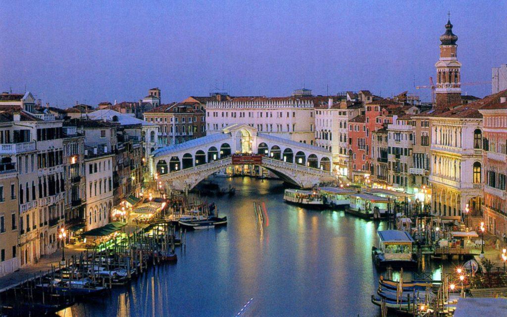 Venezia romantica Ponte di Rialto