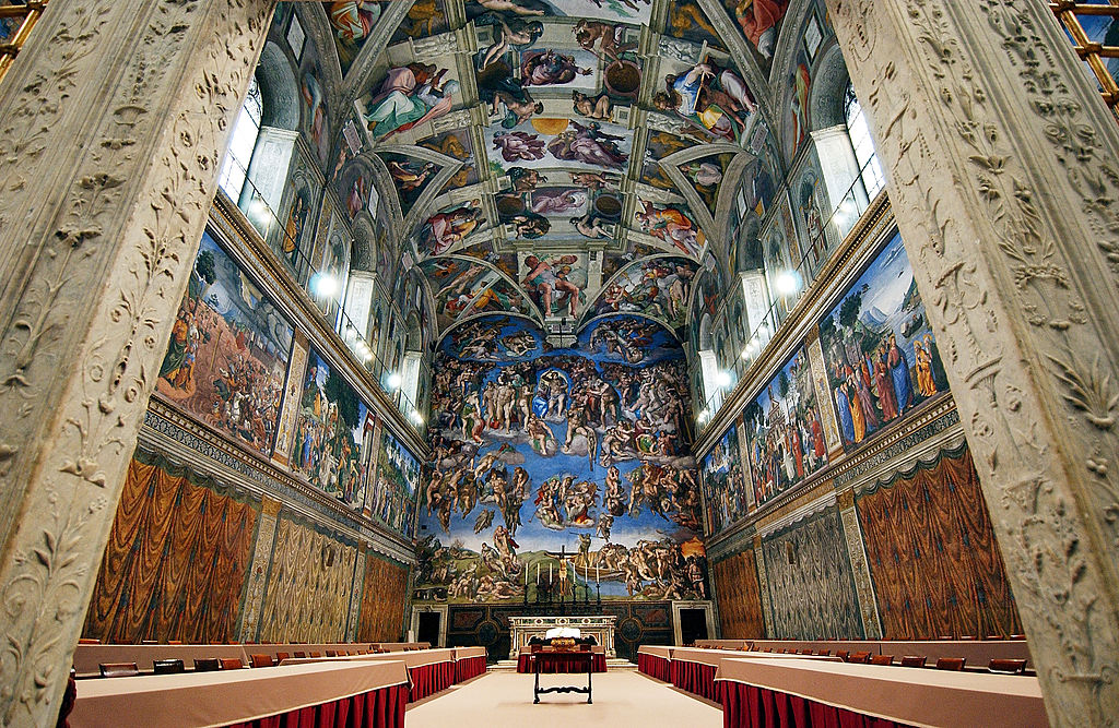 La Cappella Sistina ai Musei Vaticani