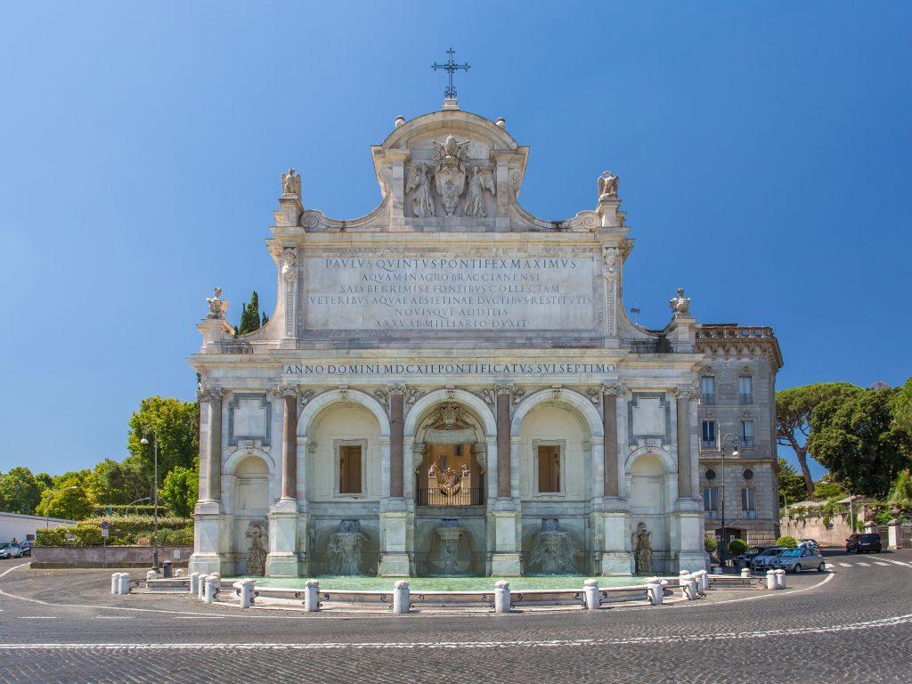 La Fontaine de l'Acqua Paola dite le Fontanone