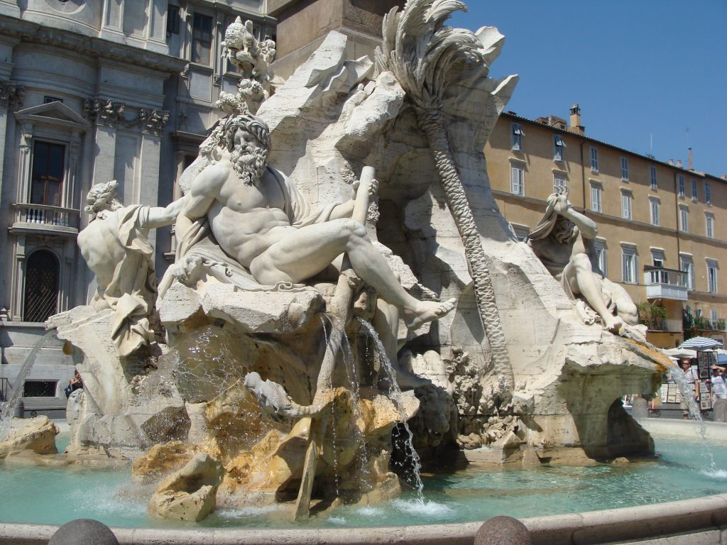 Fountain of the Four River