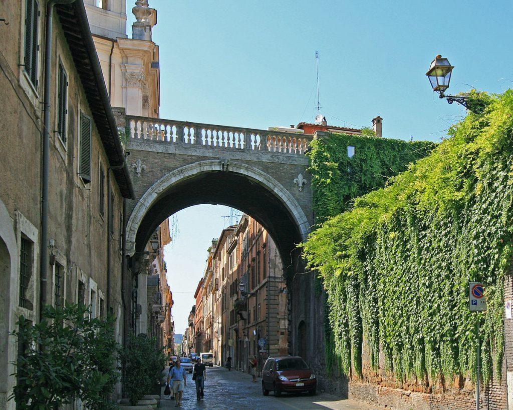 Via Giulia Roma
