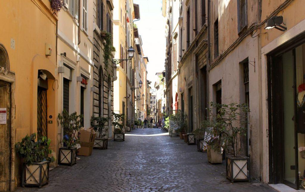 Via de Coronari Roma