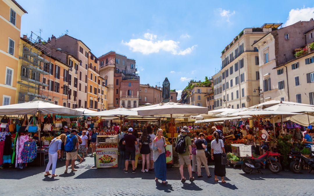 I Mercati di Roma passeggiata di shopping. Ecco la nostra Top 10!