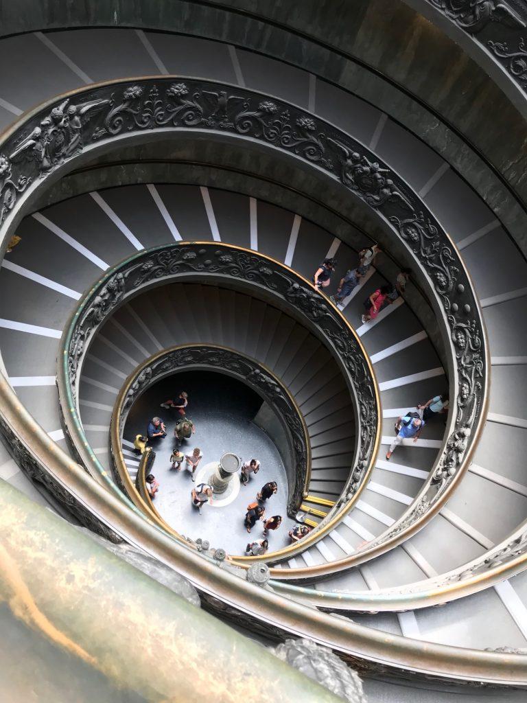 Scalone Musei Vaticani