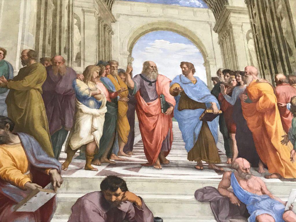 Stanze di Raffaello La Scuola di Atene