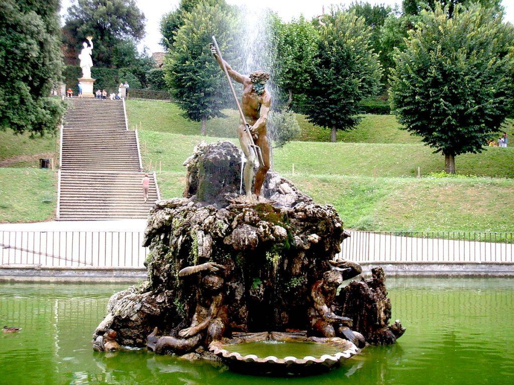 Fontane Da Giardino Firenze.Visitare Il Giardino Di Boboli Le Bellissime Fontane