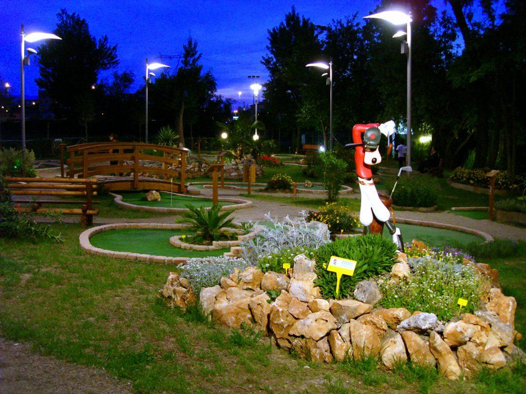 Minigolf al Parco dei Renai