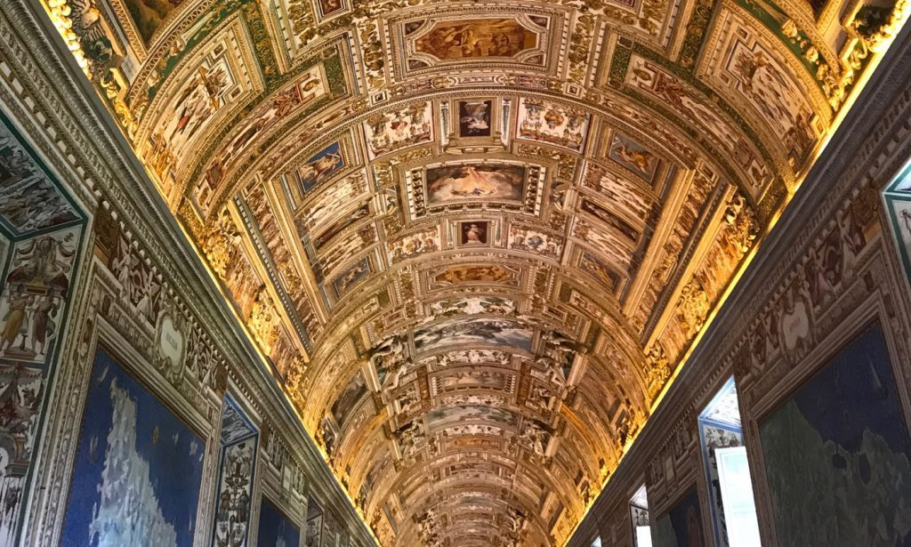 The Map Gallery at the Vatican Museums