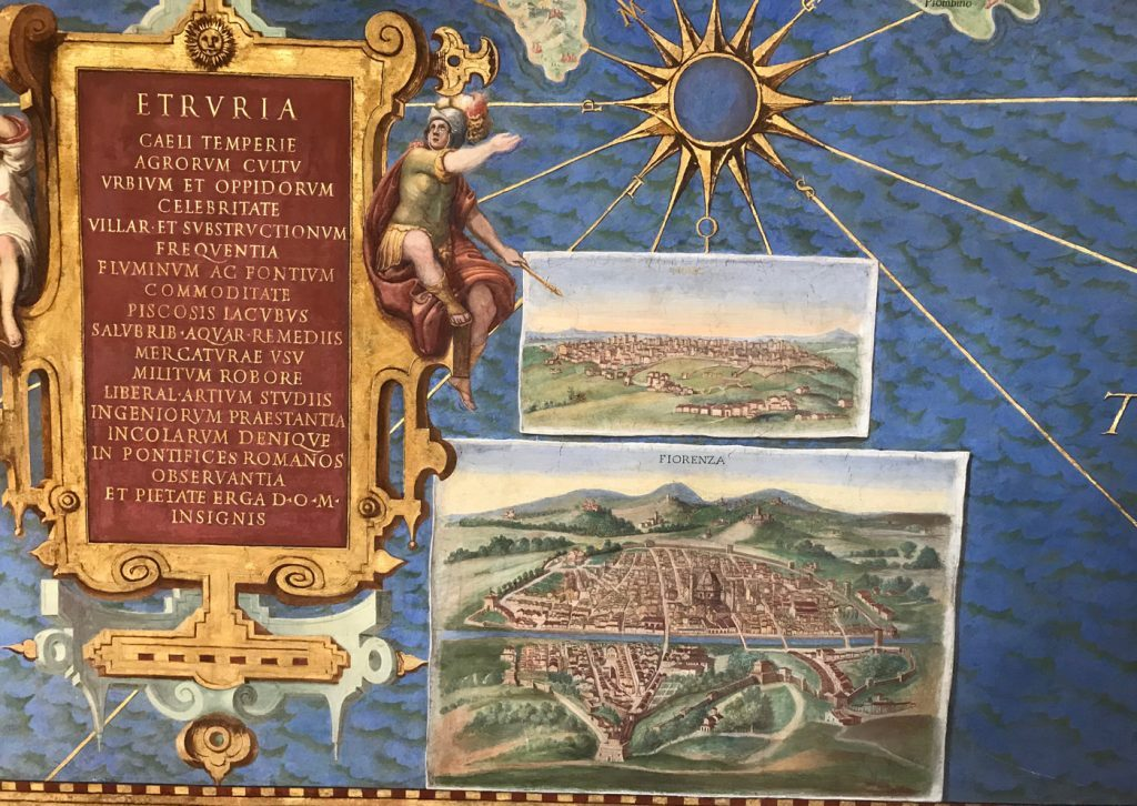 The Maps at the Vatican Museums