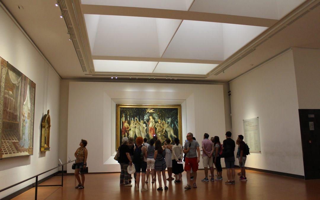 Visit to the Uffizi Gallery
