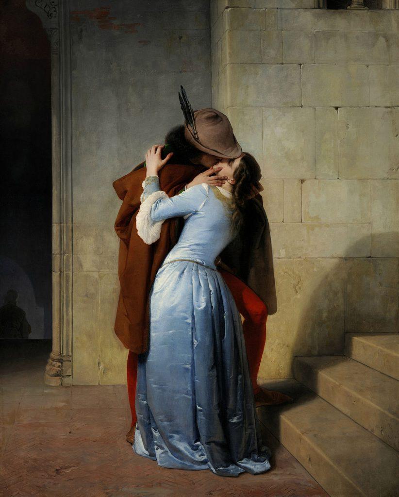 Il bacio di Hayez alla Pinacoteca di Brera