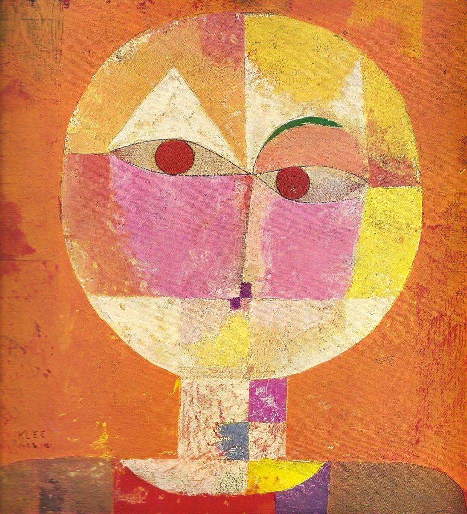 Senecio, opera di Paul Klee