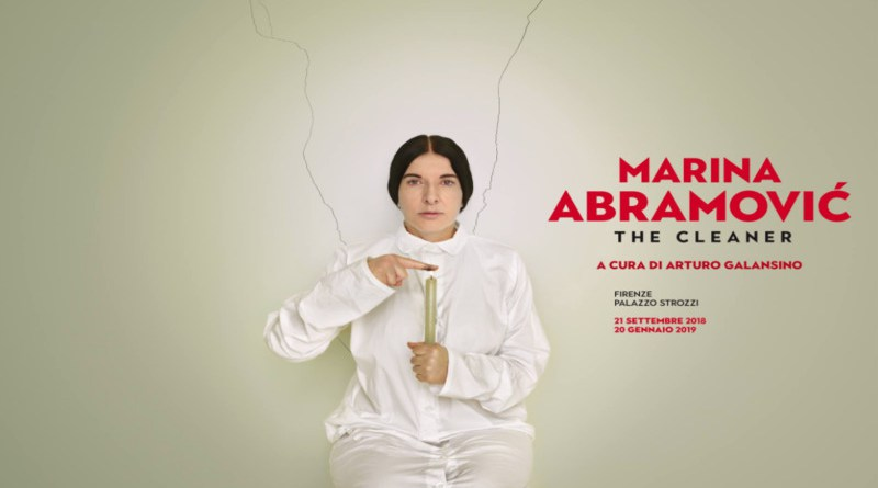 Exposition à Florence: Marina Abramovic à Palazzo Strozzi