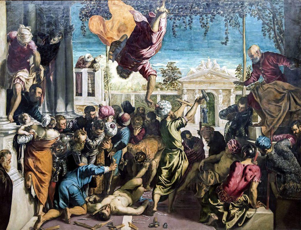 Il miracolo dello schiavo, Tintoretto