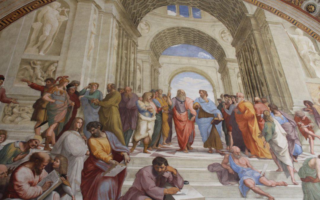 Aux Musées du Vatican: les Chambres de Raffaello di Sanzio