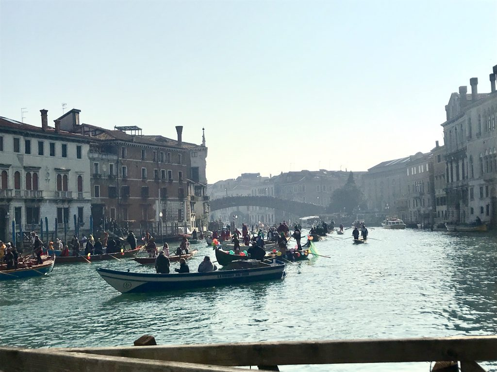 Carnevale water parade