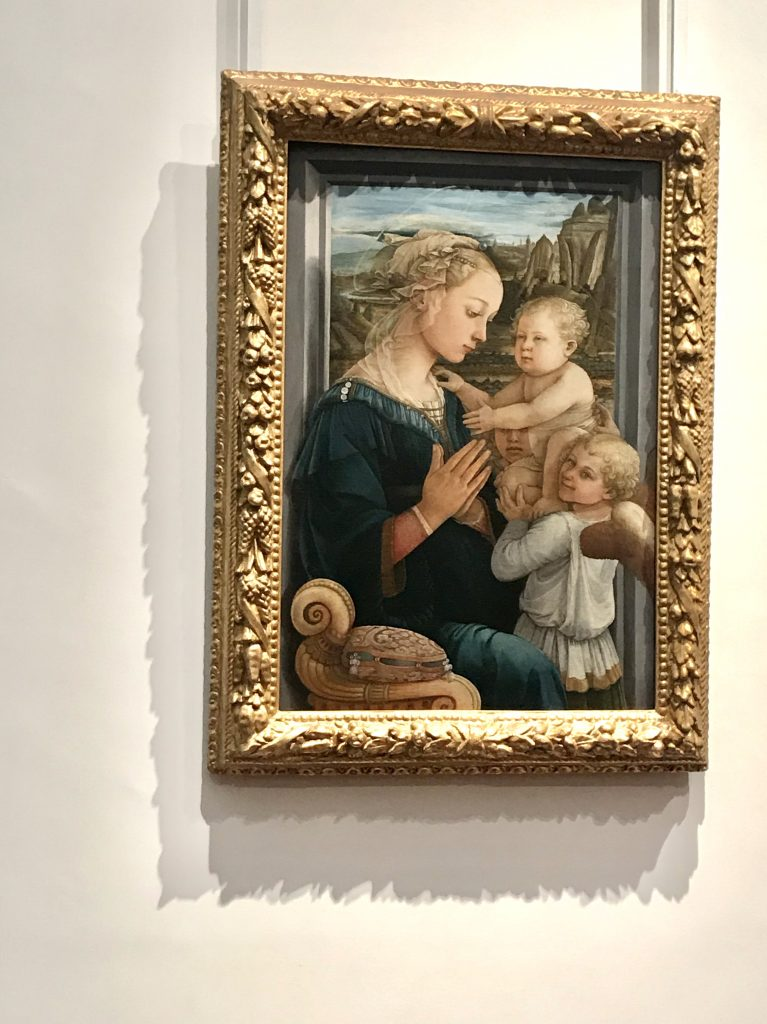 Paintings in the Uffizi Gallery