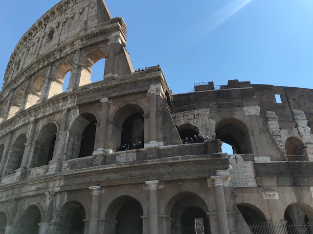 View of Roman Colosseum
