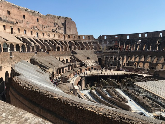 Ancient Roman Ruins - Colosseum