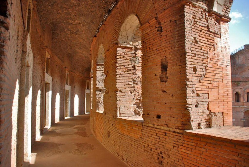 Les Marchés de Trajan à Rome