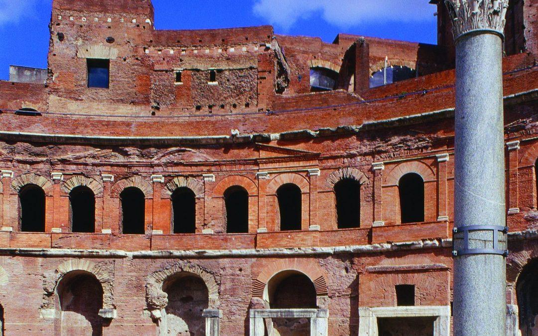 À voir à Rome: les Marchés de Trajan