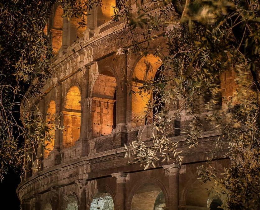 Rome au clair de lune