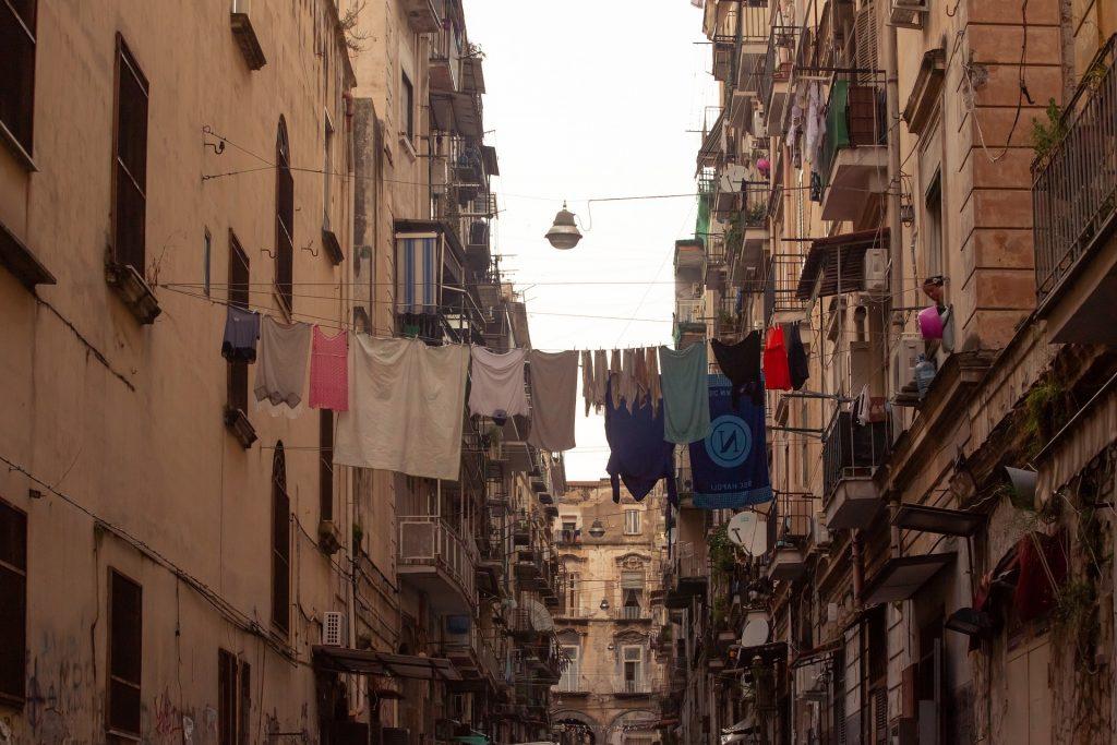 Naples et ses quartiers