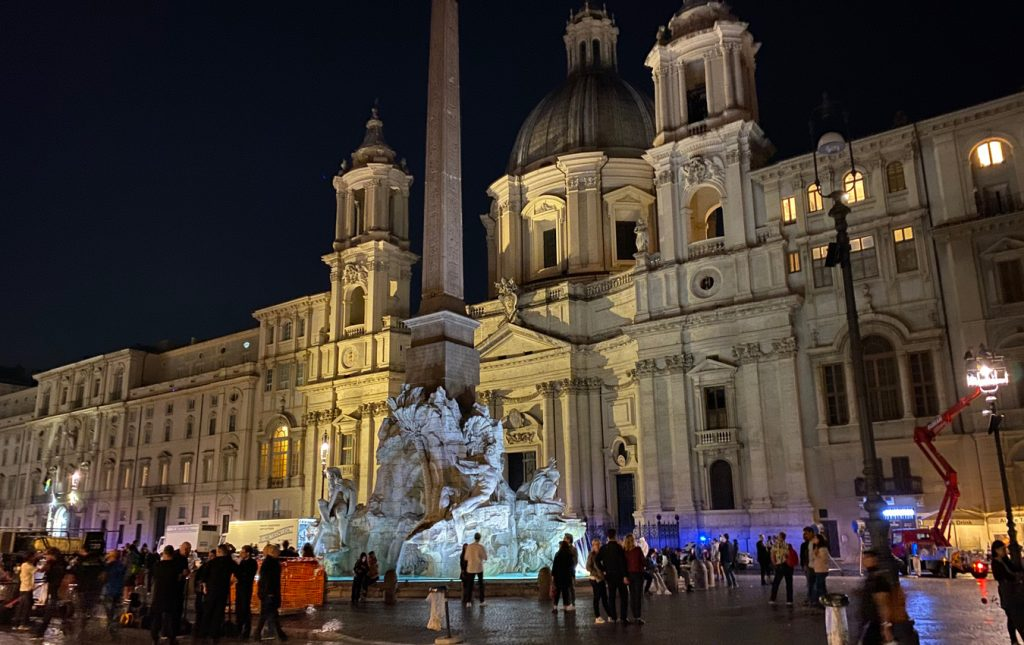 Roma di Notte Piazza Navona