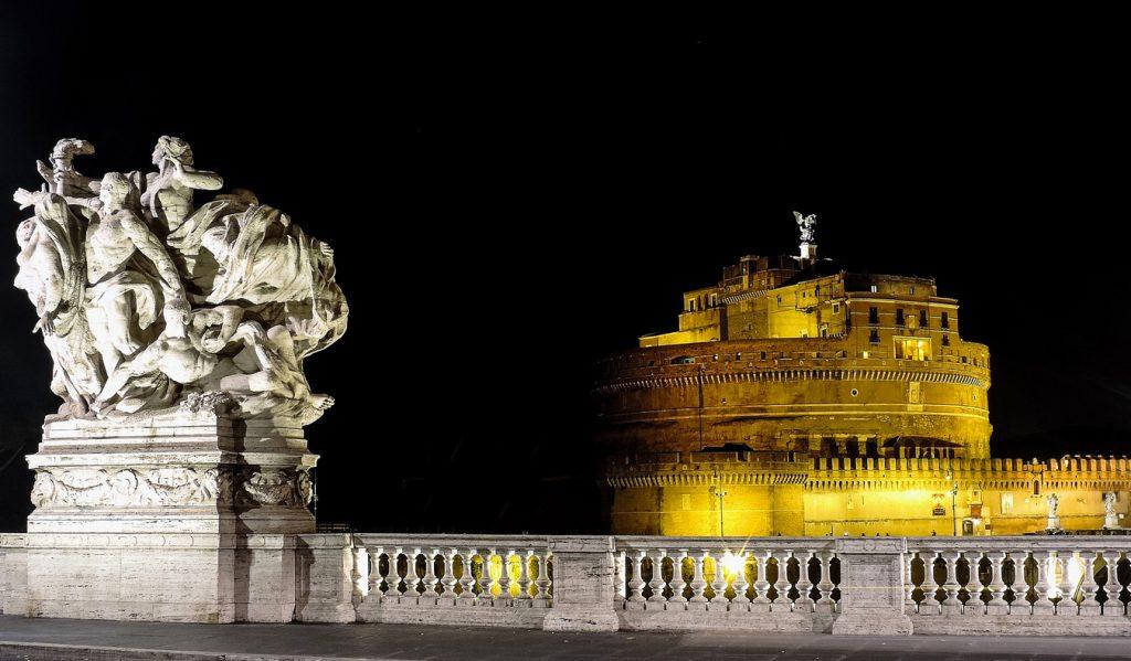 Roma di Notte Castel Sant'Angelo