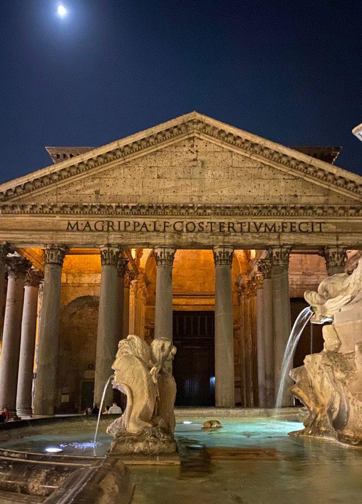 Roma di Notte Pantheon