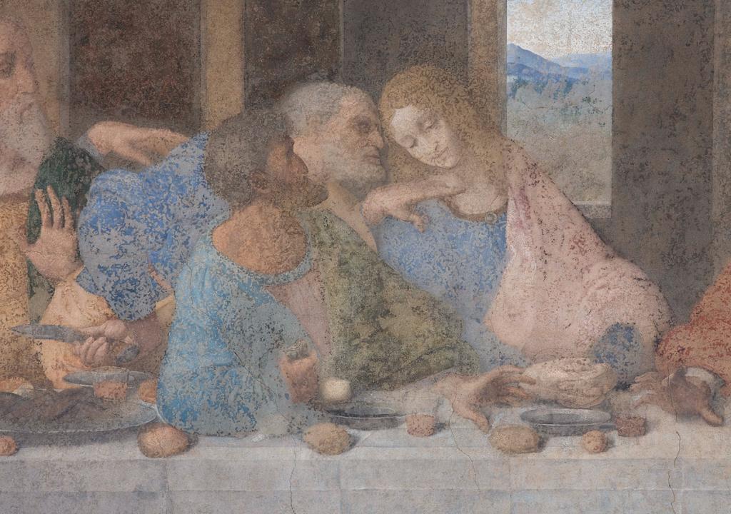 Cenacolo Vinciano - Apostoli e Maddalena