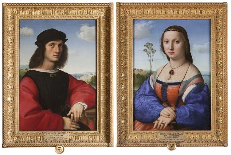 Ritratto di Agnolo e Maddalena Doni - Photo by uffizi.it