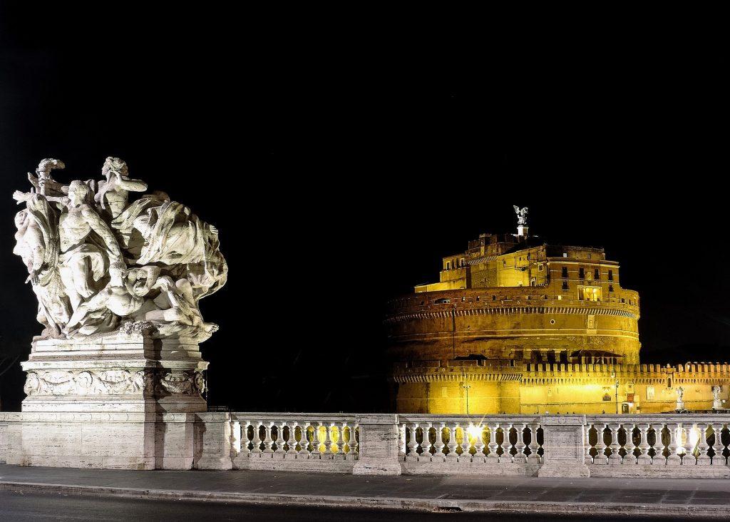 Castel San'Angelo Roma di Notte