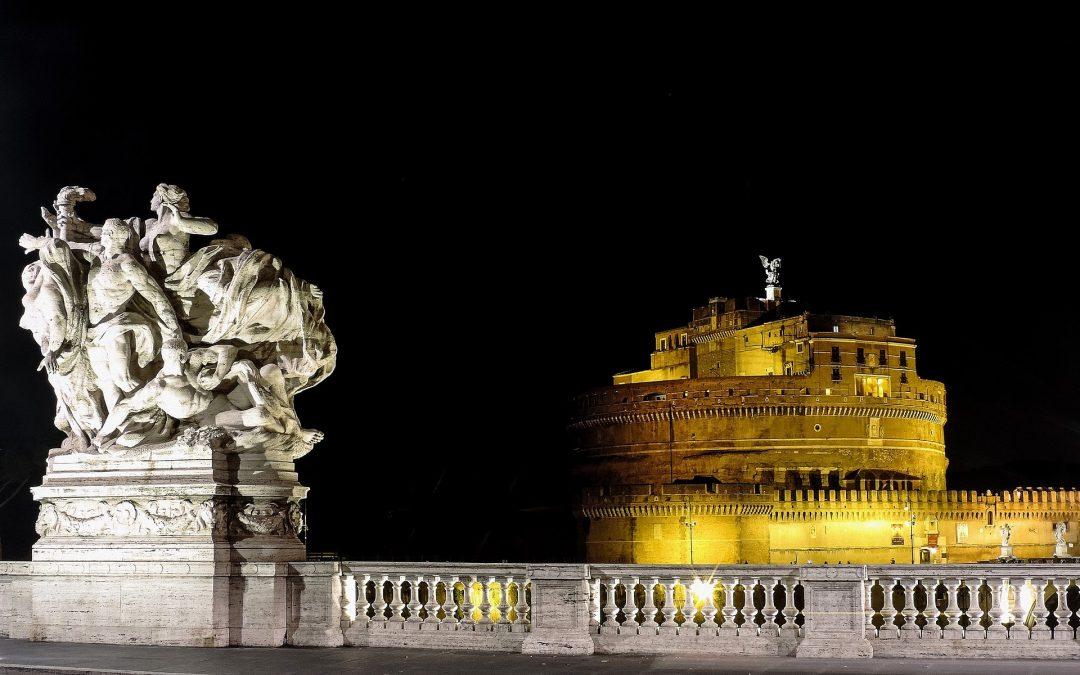 Visitare Roma la sera