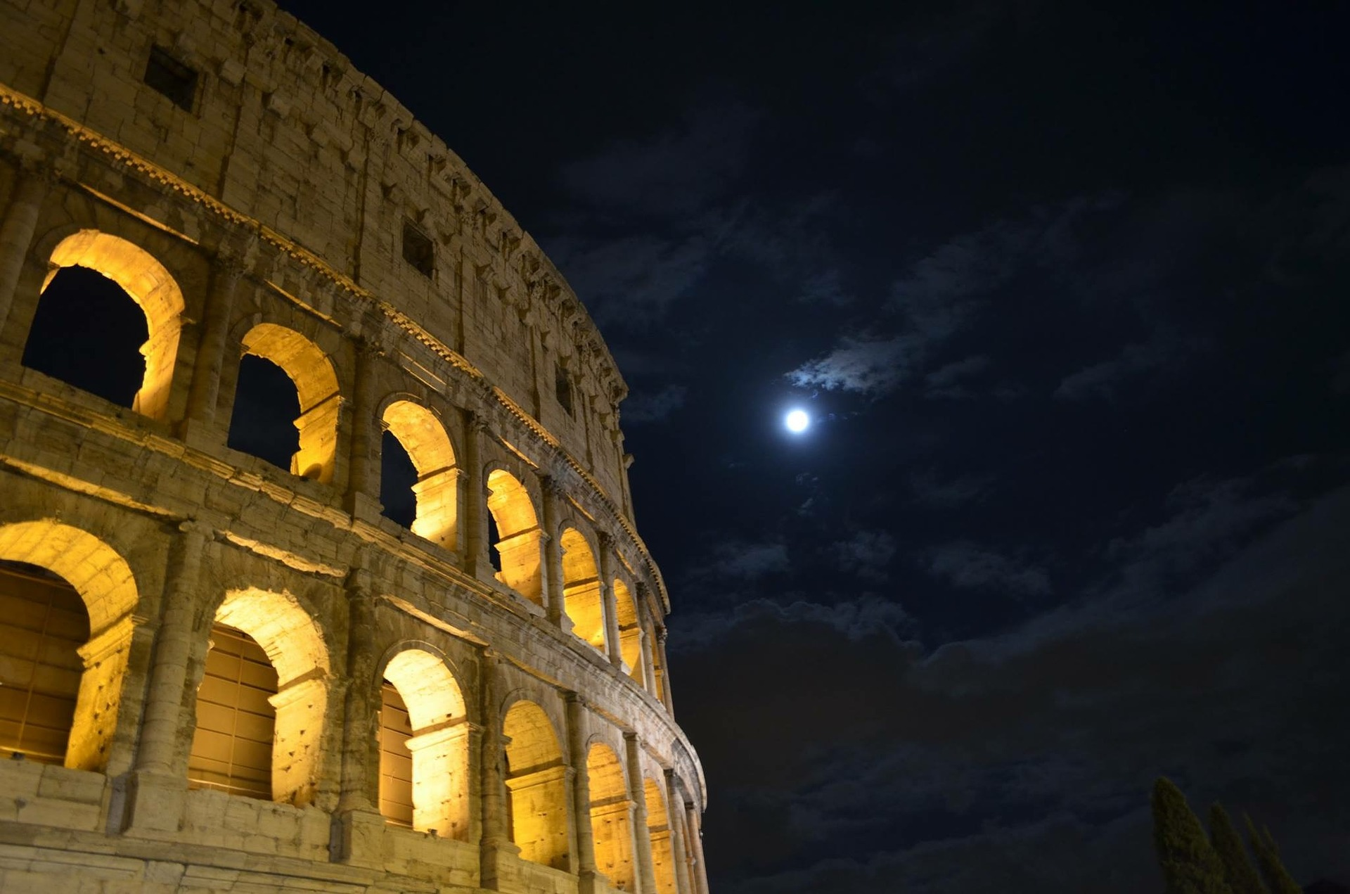 Colosseum by Night Tour
